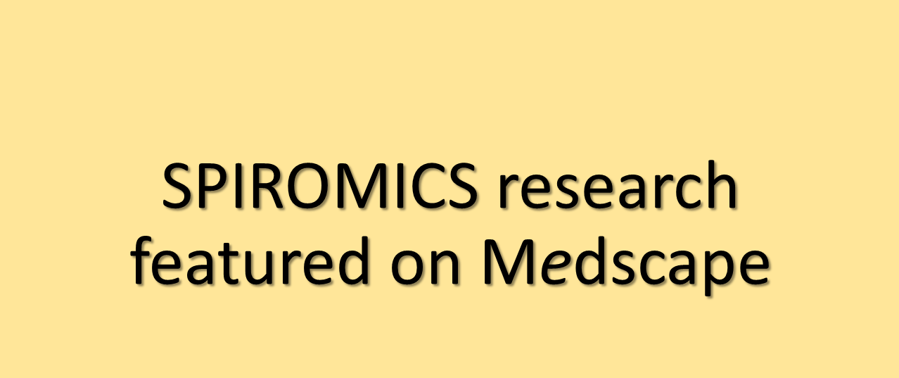 SPIROMICS featured on Medscape