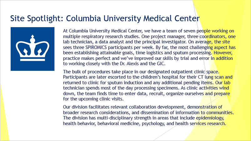 Photo for Site Spotlight on Columbia University Medical Center