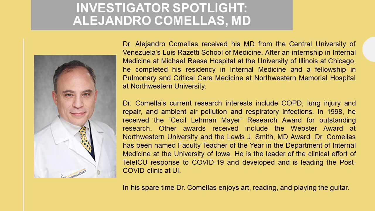 Photo of Alejandro Comellas, MD