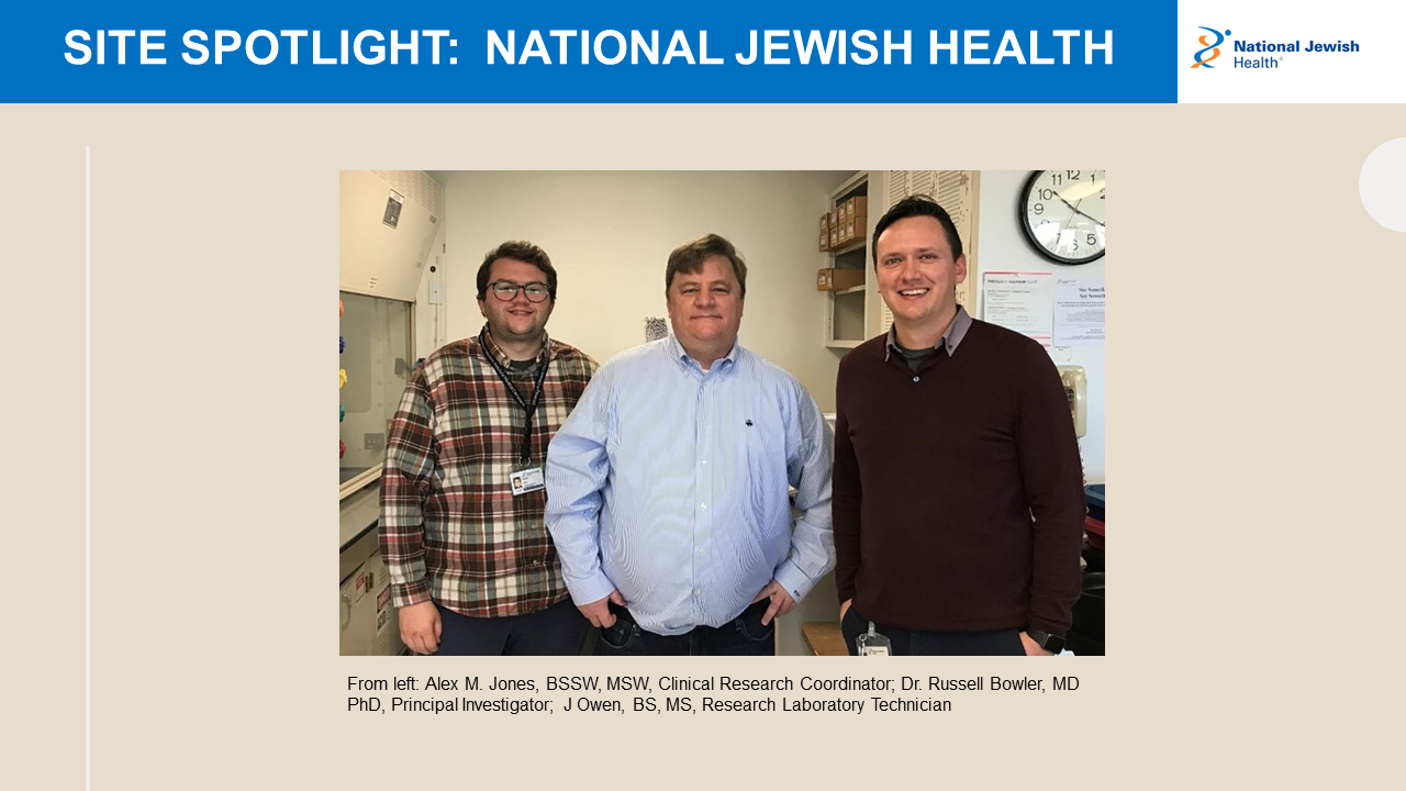 Photo for Site Spotlight on National Jewish Health