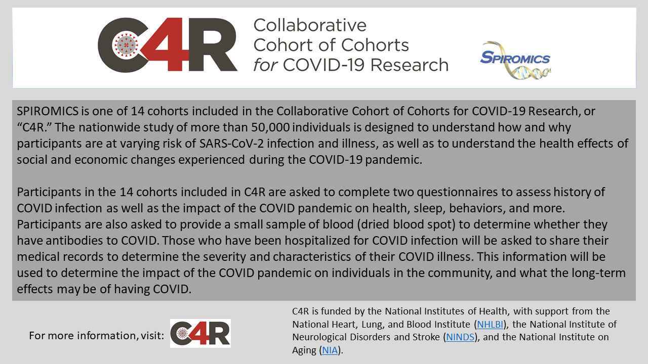 Collaborative Cohort of Cohorts for COVID-19 Research